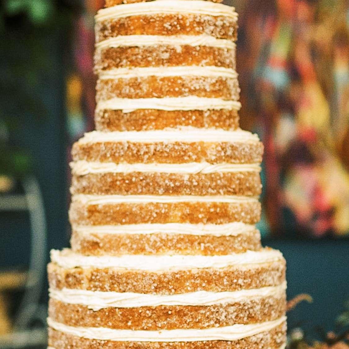 Churro Wedding Cake