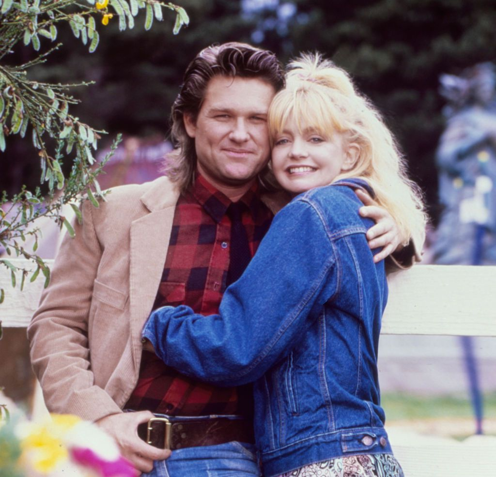kurt russell and goldie hawn in 1987