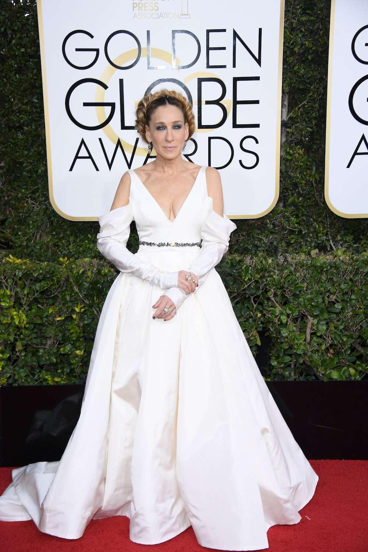 Sarah Jessica Parker at the 2013 Golden Globes