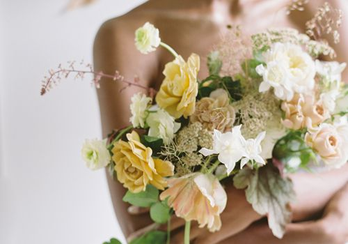 tulip wedding boquet