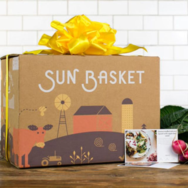 Sun Basket Meal Delivery Gift Card