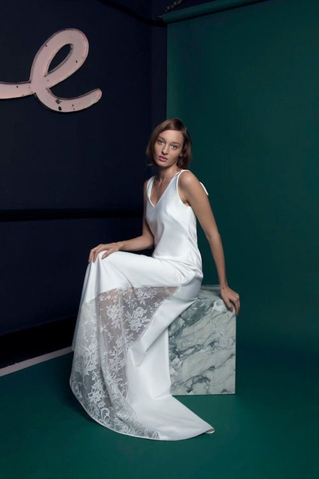 Halfpenny London white gown