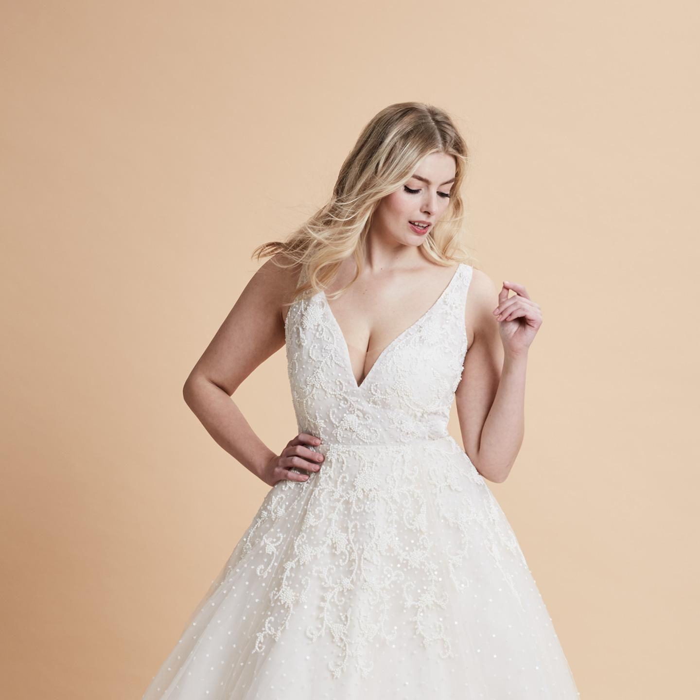 Weddings Beauty And Attire: 35 Designer Plus Size Wedding Dresses We Love