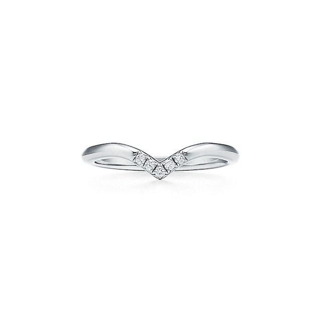 Tiffany Soleste V Ring