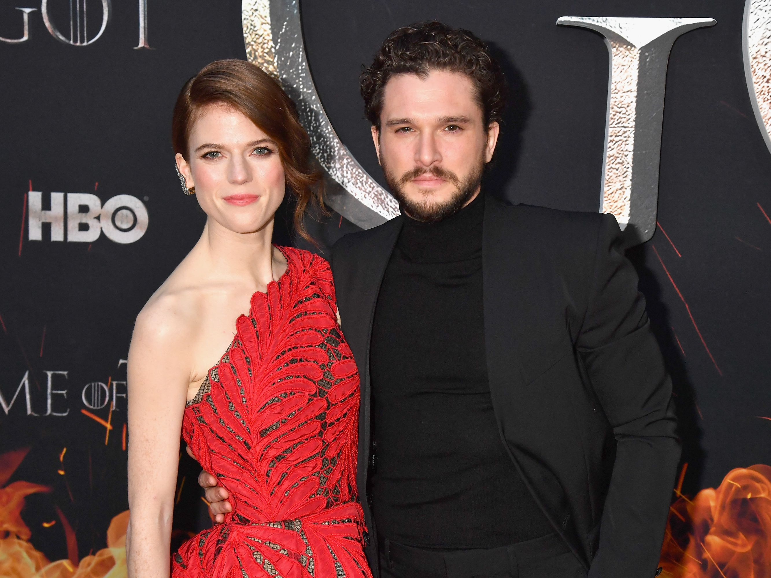 Kit Harington Tried to Prank Wife Rose Leslie Again—But She Got the