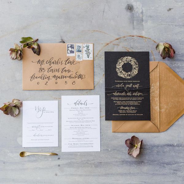 How To Address Your Save-the-Date Envelopes