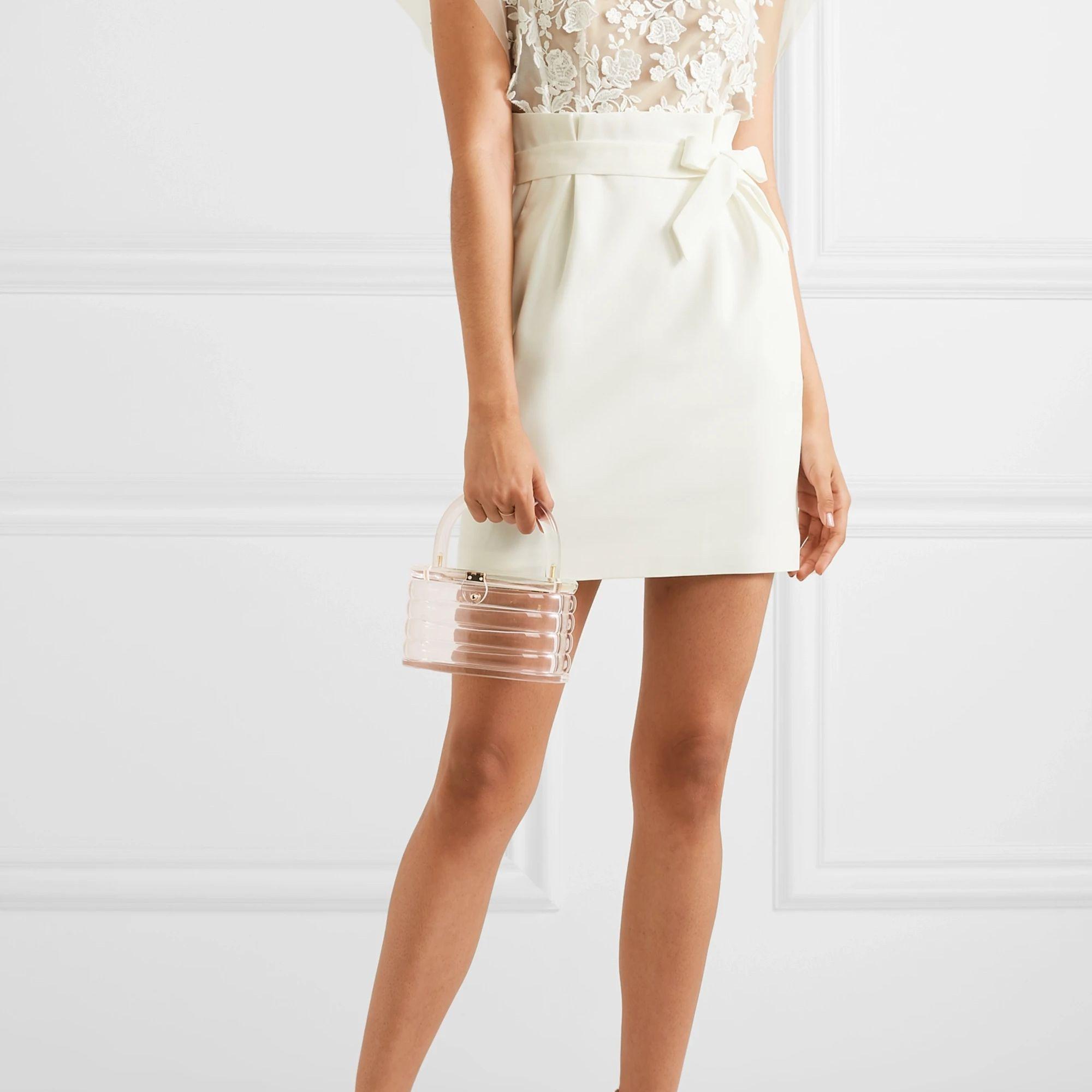 sheer bodice dress