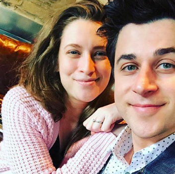 <p><p>Actor David Henrie and his wife Maria Cahill.</p></p>