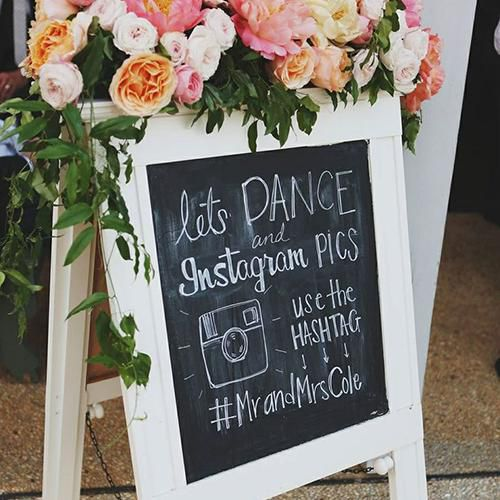 10 Stylish Ways To Spread The News About Your Wedding Hashtag