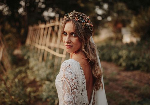 Bridal crown