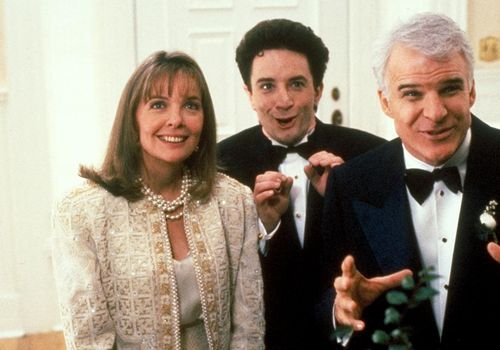 Steve Martin and Dianne Keaton Father of the Bride