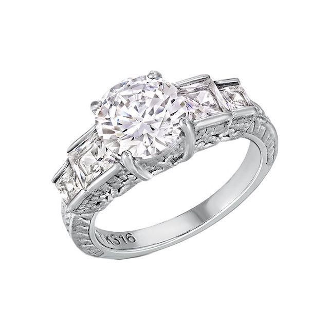 Blue Steel Loveable Ring