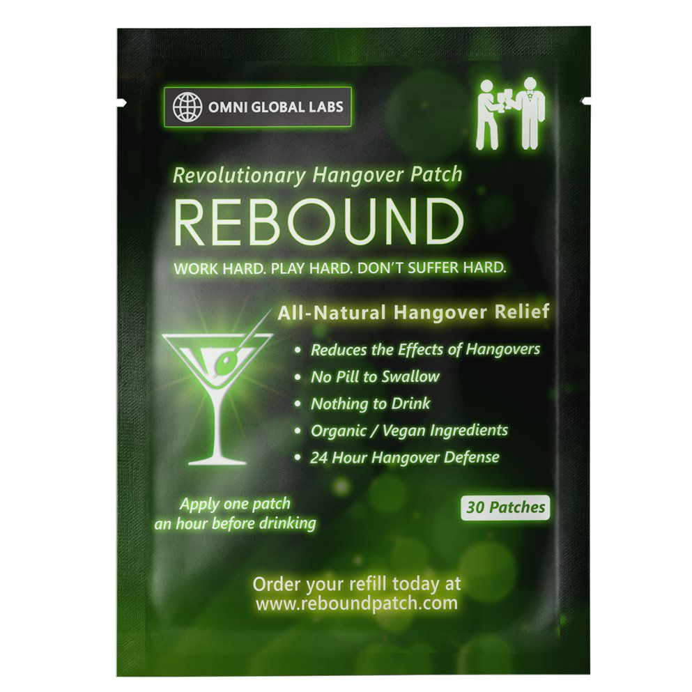Rebound Hangover Relief patch