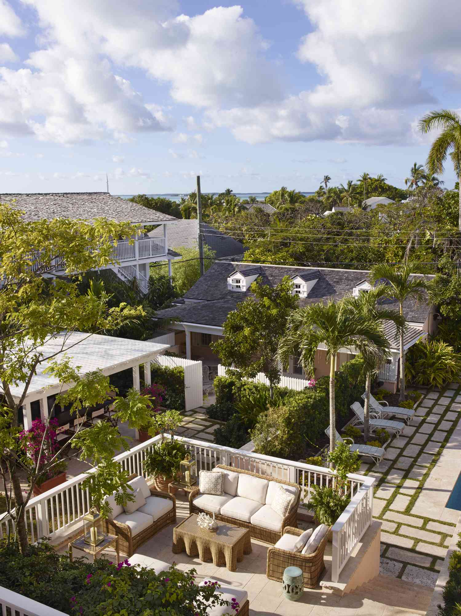 A view of Bahama House on Harbour Island