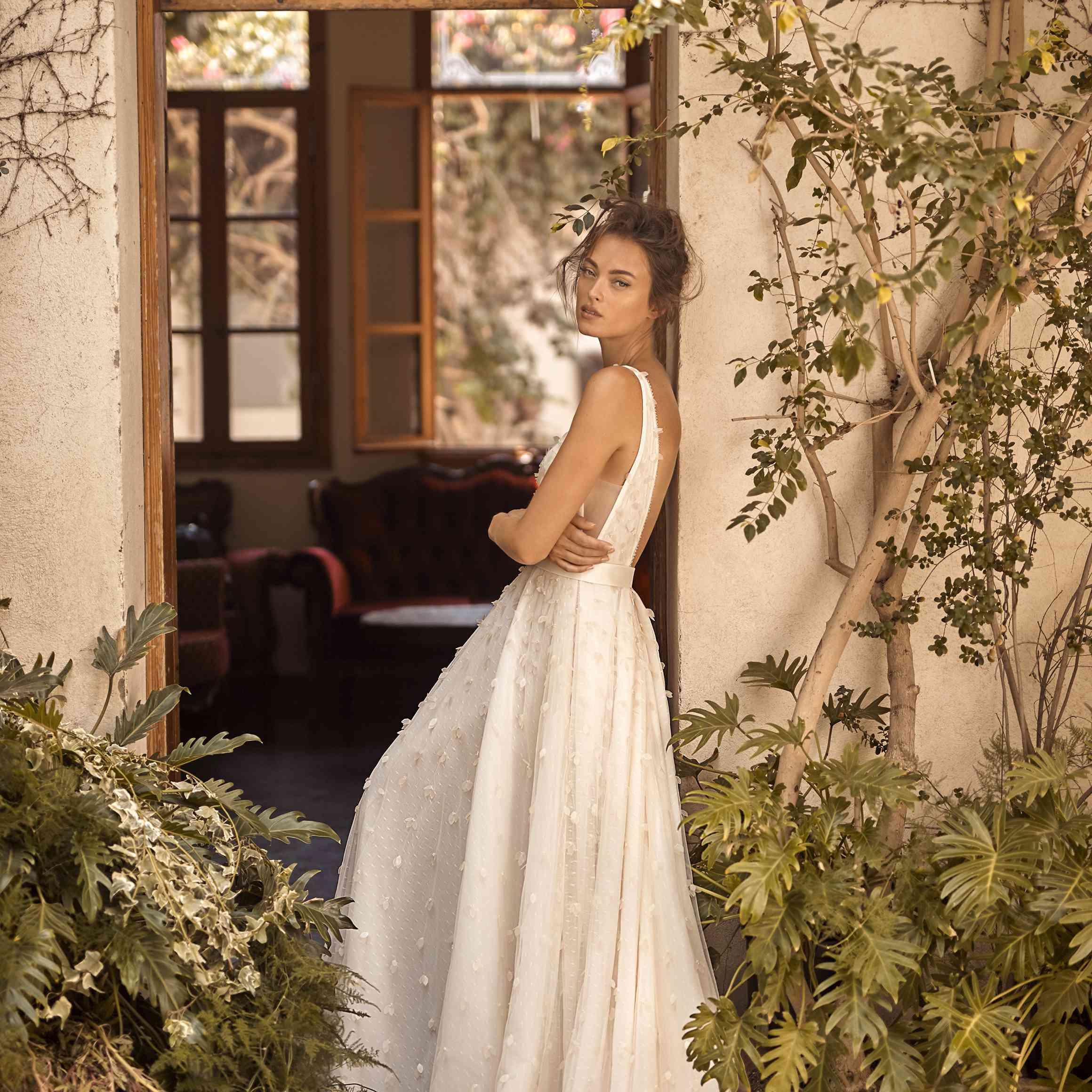 Amber wedding dress