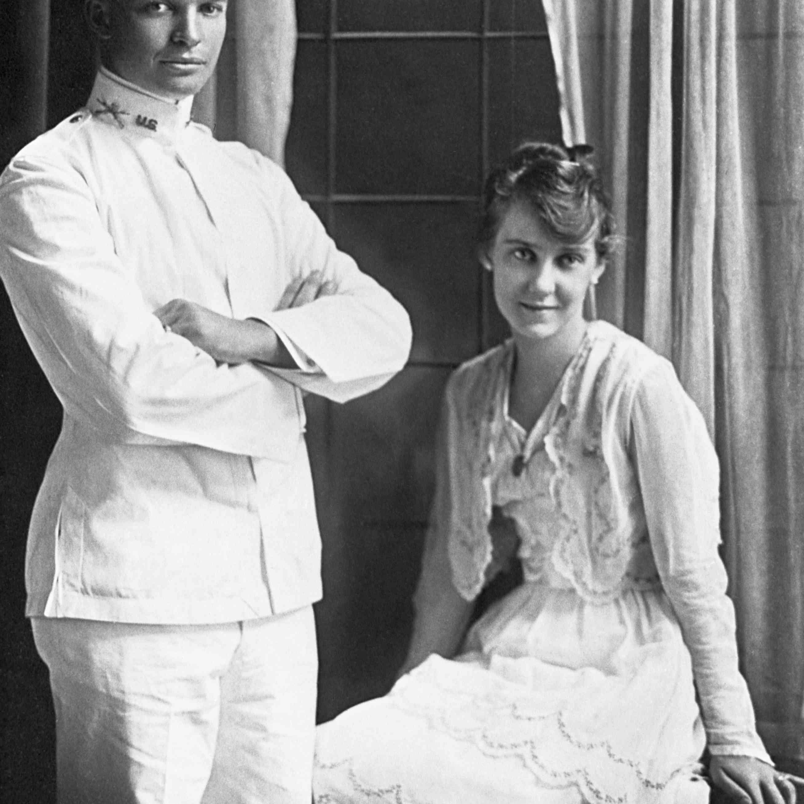 Mamie and Dwight Eisenhower