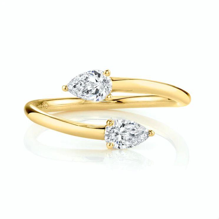 Anita Ko Two Stone Claw Ring