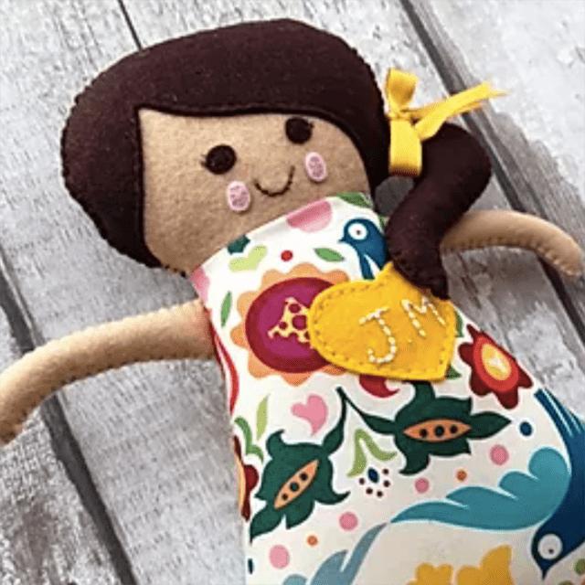Thimble and Doll Custom Doll