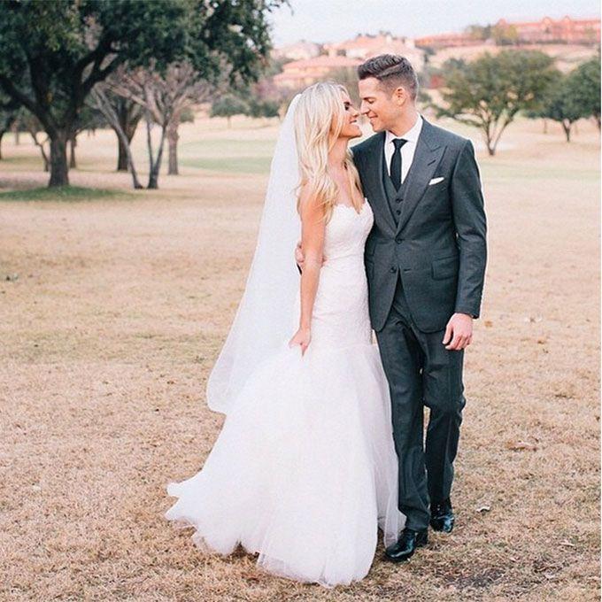 Lauren Scruggs marries Jason Kennedy in Romona Keveza, 2014