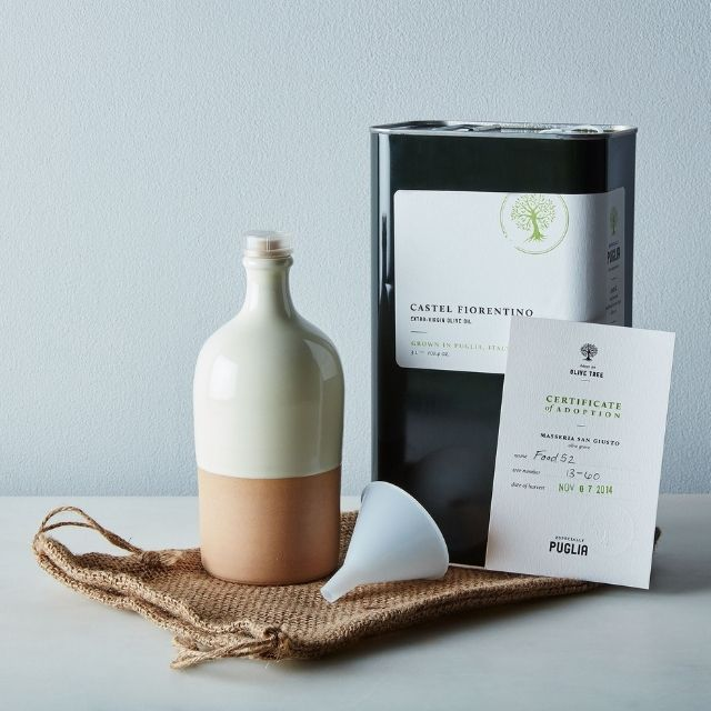 Especially Puglia Adopt an Olive Tree Gift Box + Subscription