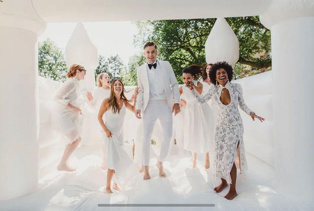 wedding entertainment bouncy castle