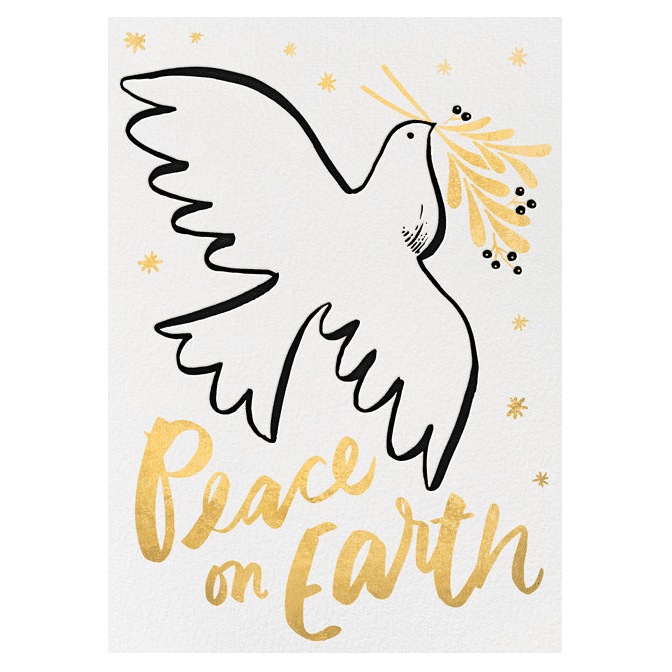 Paperless Post Hello!Lucky Dove of Peace