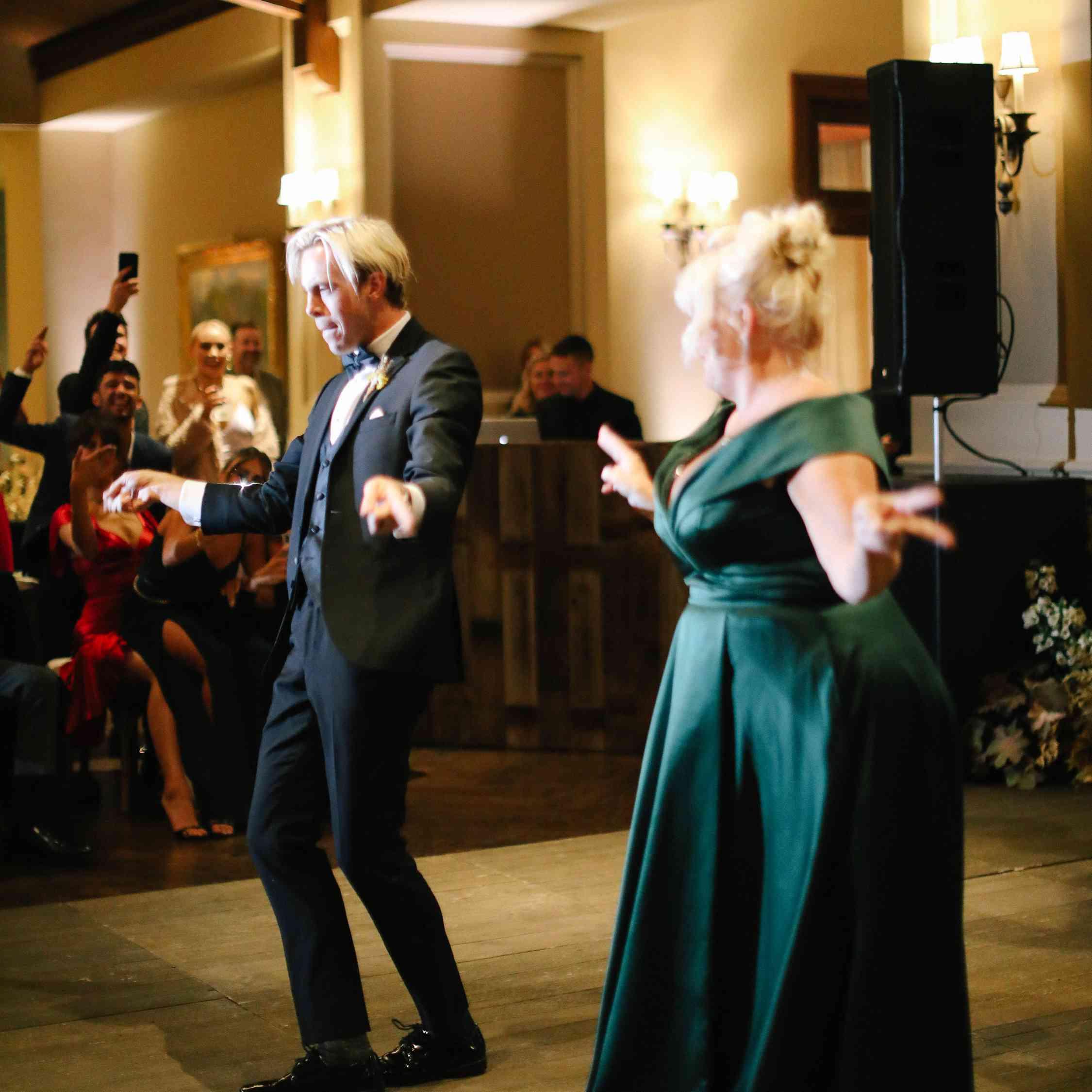 savannah and riker wedding, mother son dance