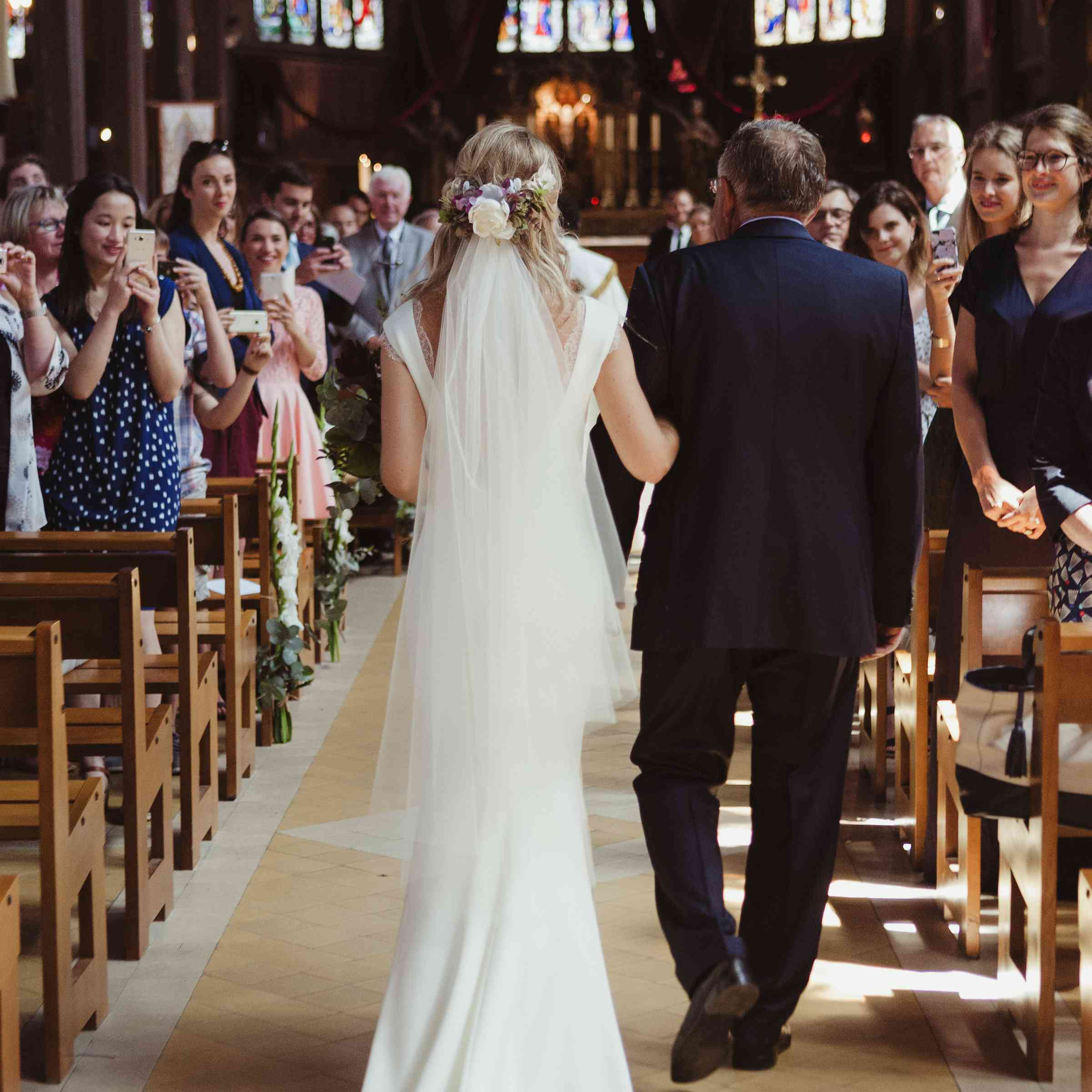 What Song Do Brides Walk Down The Aisle To: A Traditional French Wedding (With A Twist!) In Normandy