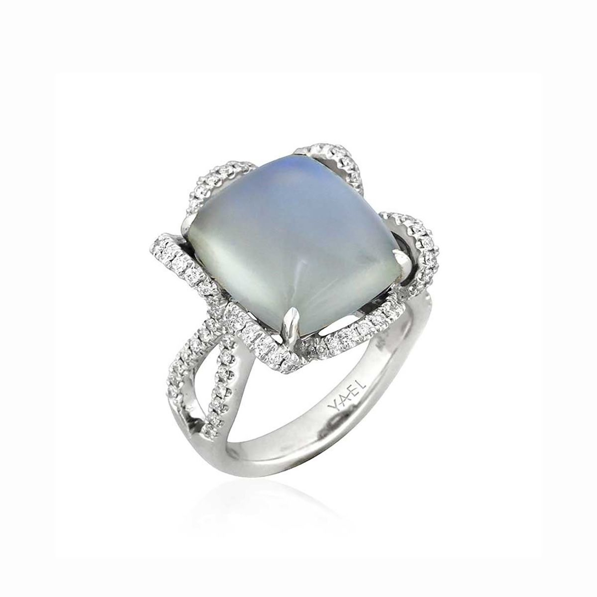 5eac5fd1d54f5 33 Moonstone Engagement Rings You're Going to Want Right Now