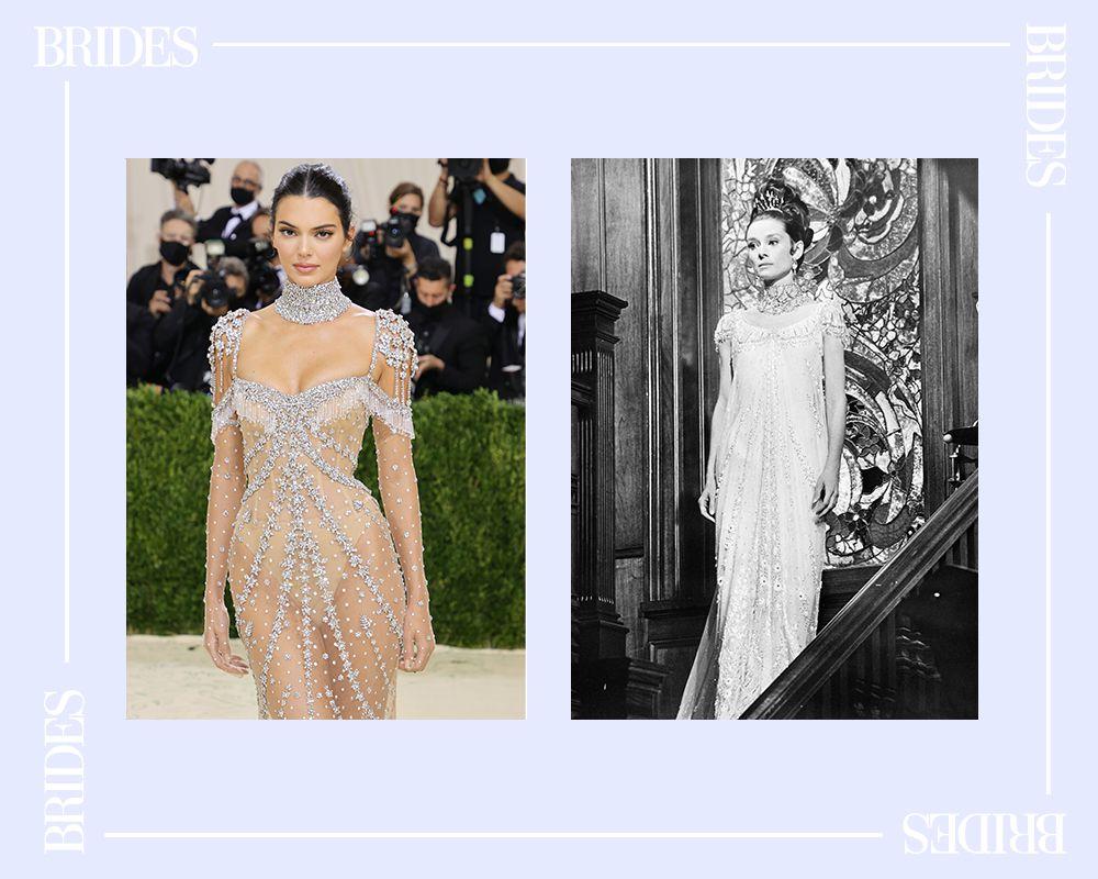 Kendall Jenner and Audrey Hepburn