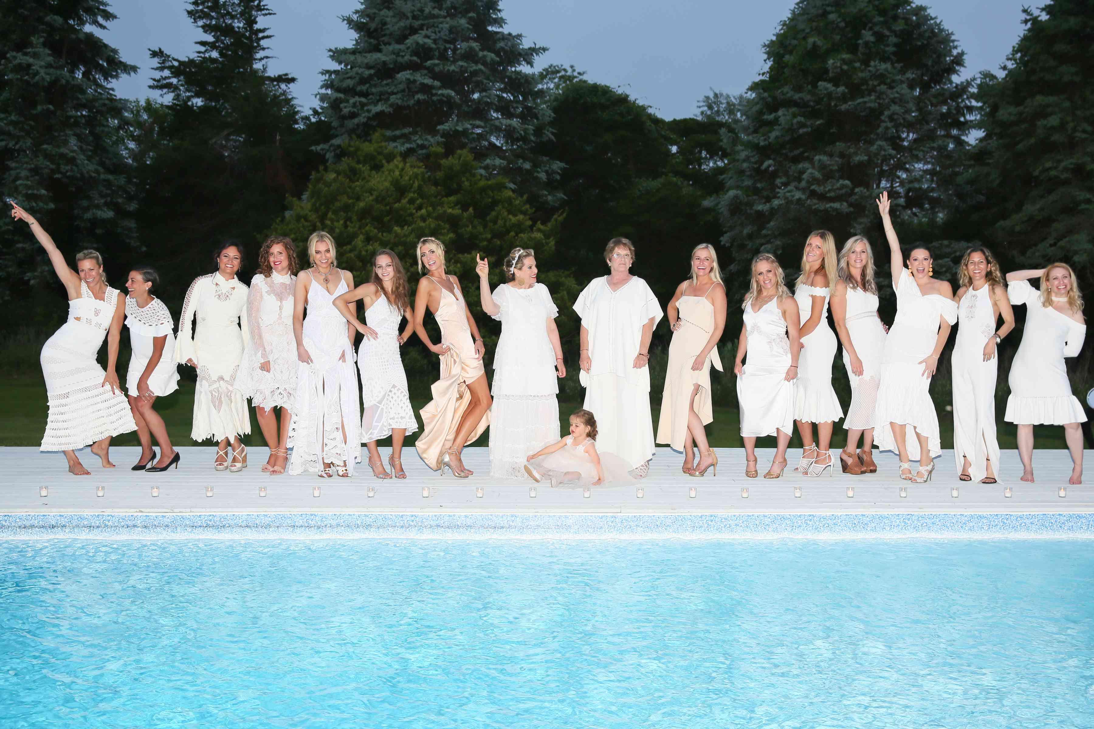 Bridesmaids in Jonathan Simkhai