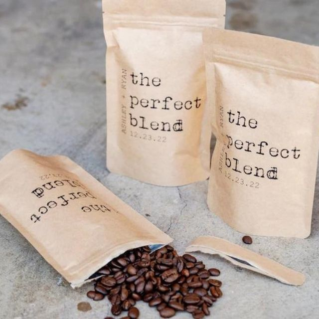 GiveItPretty The Perfect Blend Coffee Wedding Favor