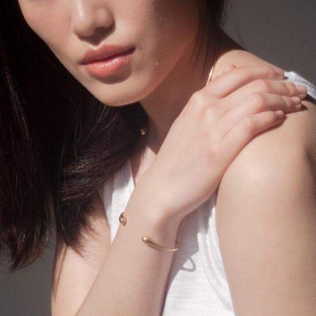 Olivia Shih Liquid Gold Cuff Bracelet