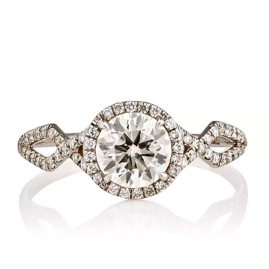 <p><p>Monique Péan Brilliant-Cut White Diamond Engagement ring</p></p>