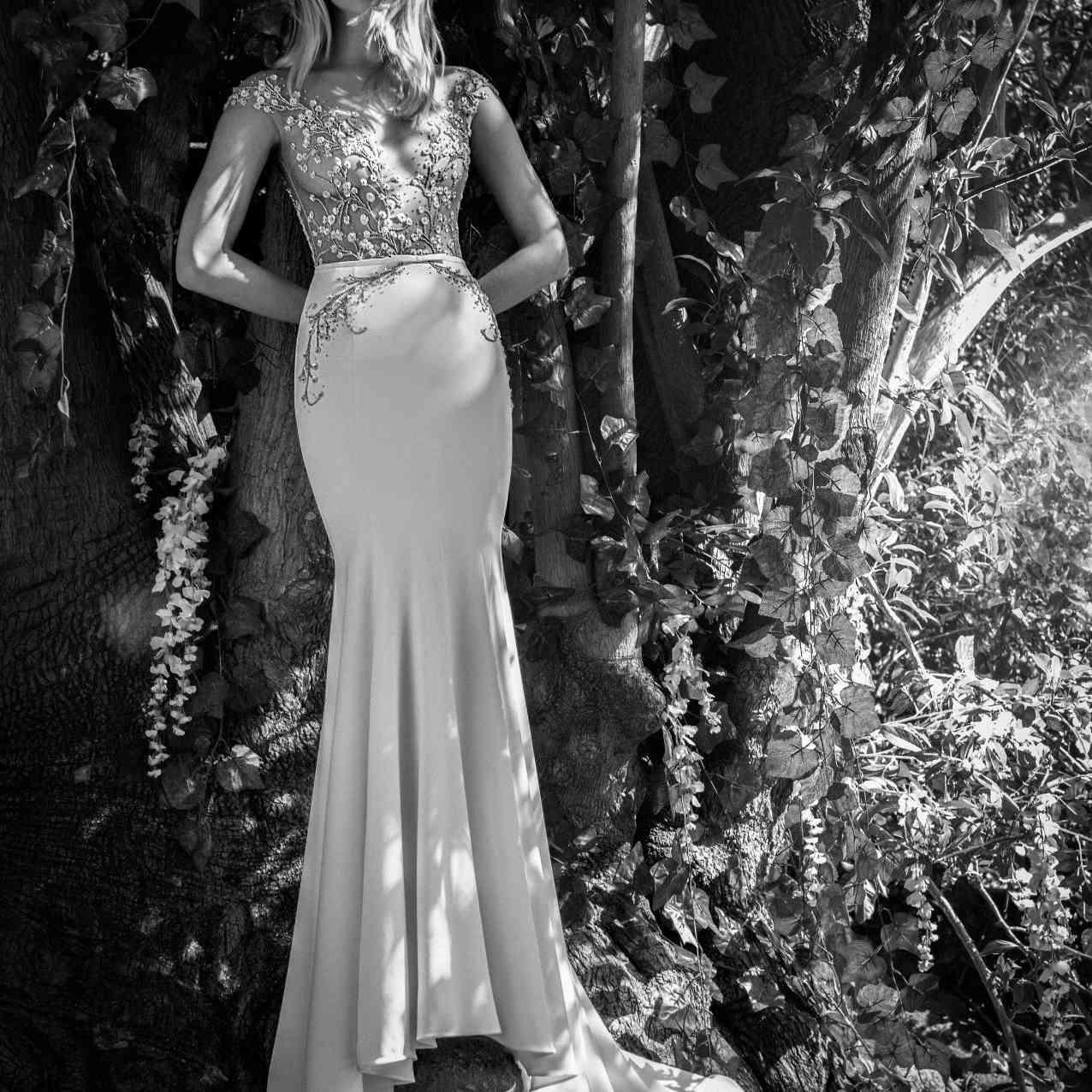 Charlie mermaid wedding dress