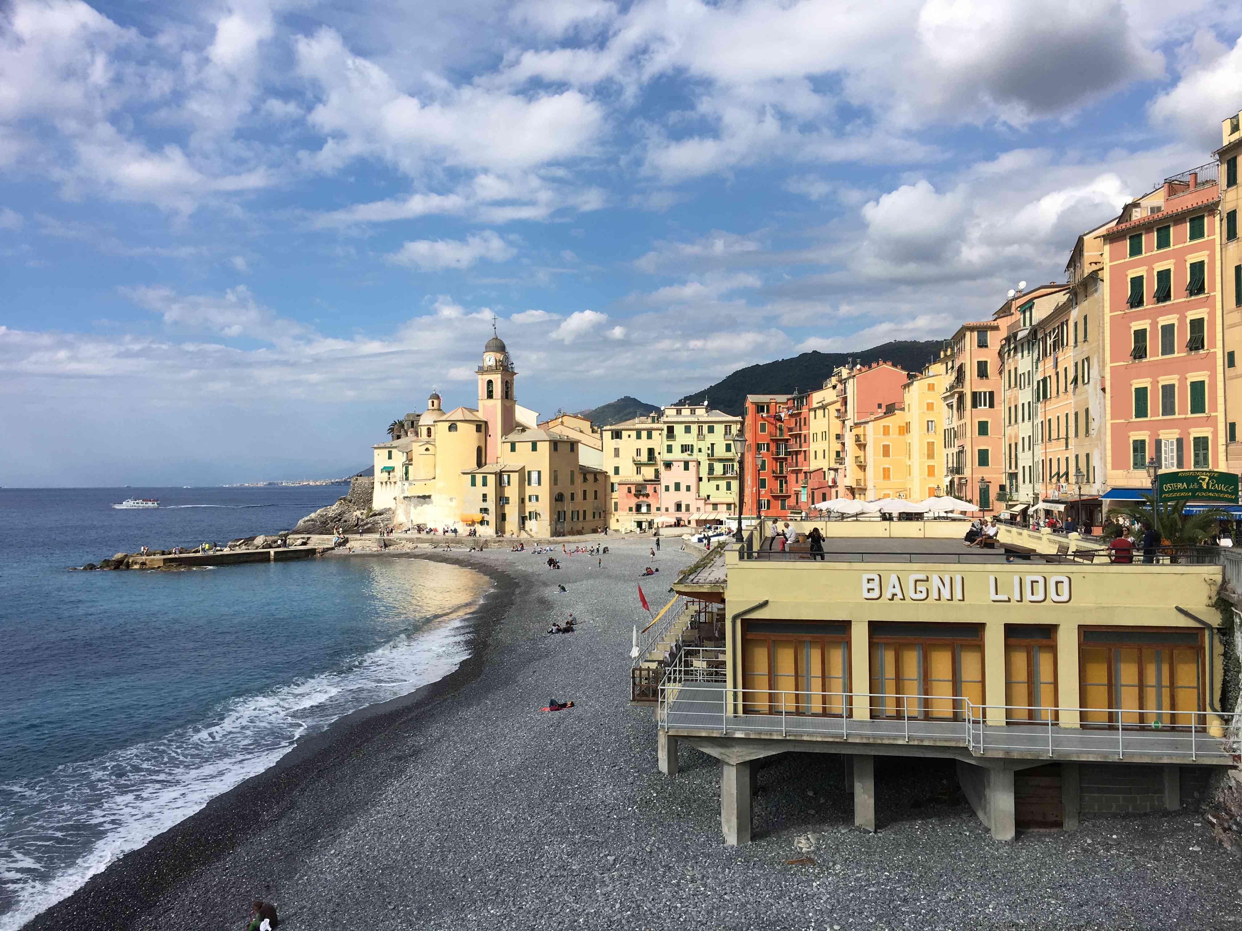Camogli, Italy Honeymoon