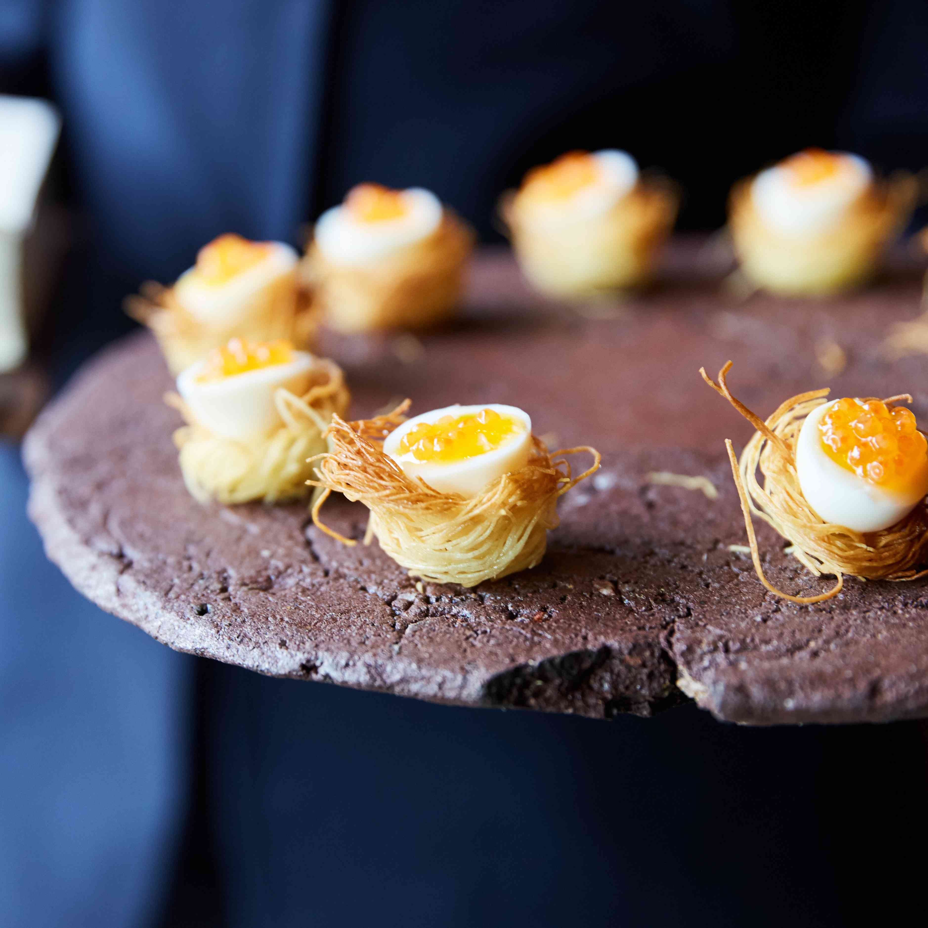 <p>passed appetizers</p><br><br>