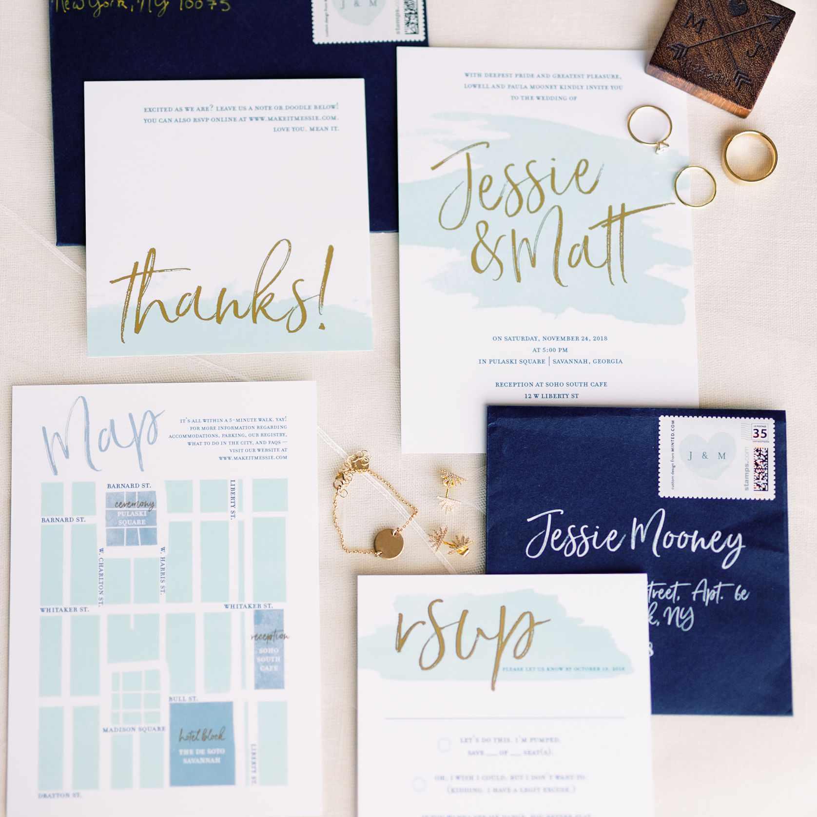 whimsical savannah wedding, diy wedding invitations