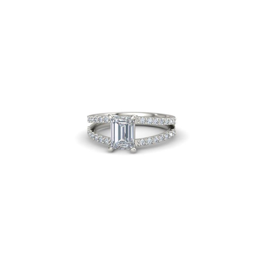 Gemvara Samantha Ring Emerald Cut Diamond