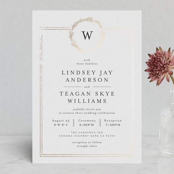 Royal Wedding Inspired Invitations From Minted