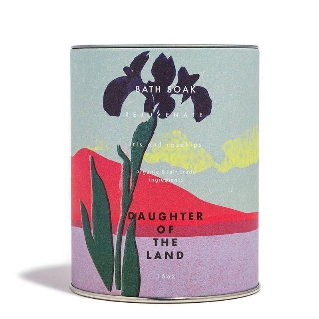 CAP Beauty Daughter of the Land Iris and Rosehips Soak
