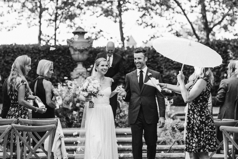 ceremony exit parasol