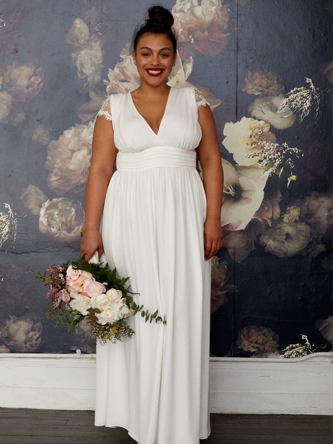 Modcloth Wedding Dress.Plus Size Wedding Dresses Are Chicer Than Ever Before
