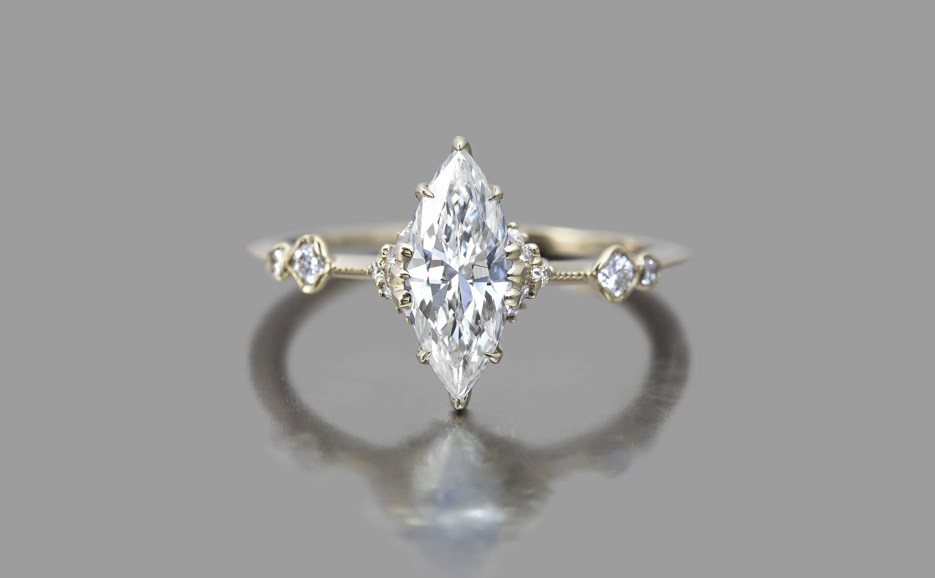 23 Marquise Engagement Rings That Prove The Style Is Totally Back