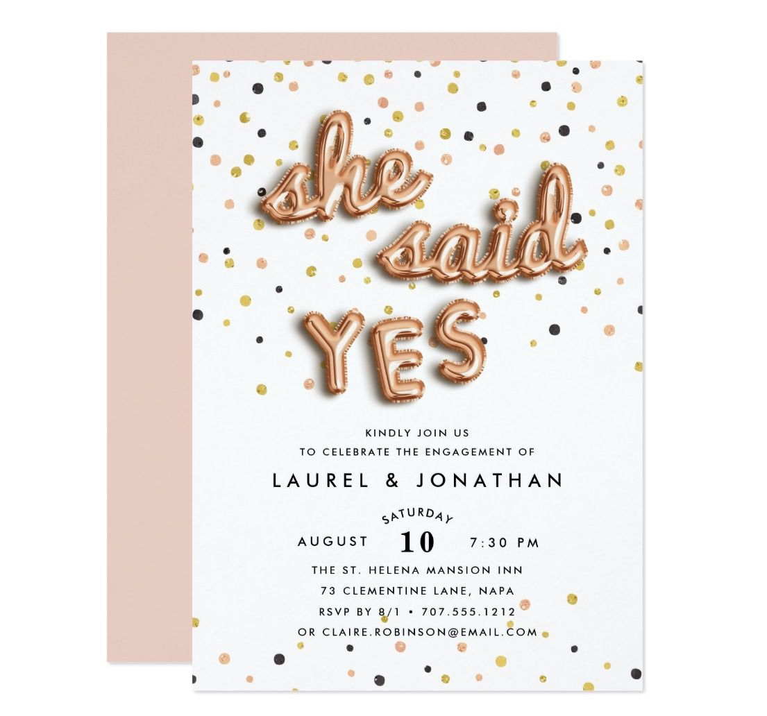 22 Festive Engagement Party Invitations