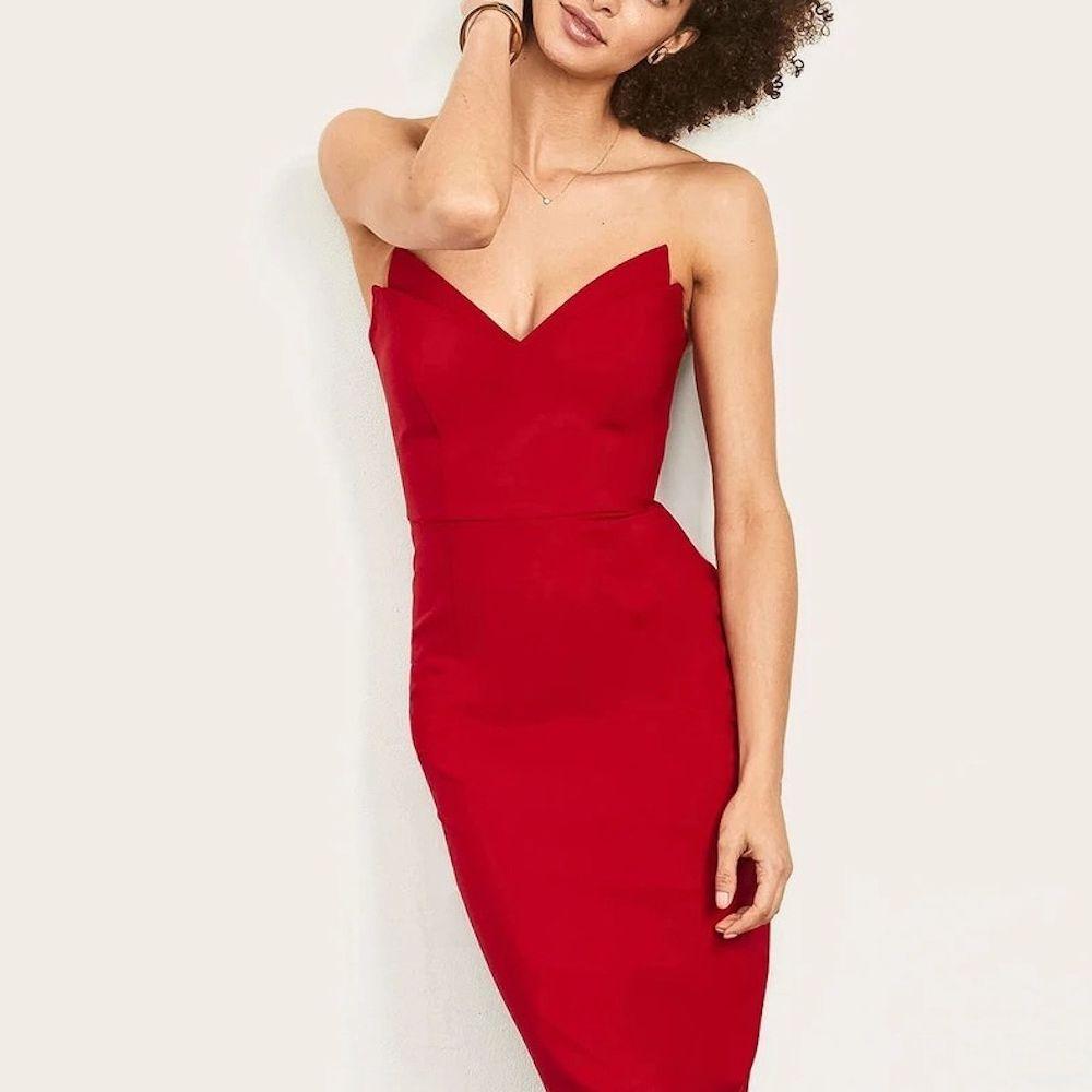 Altress Jessica Strapless Bridesmaid Dress