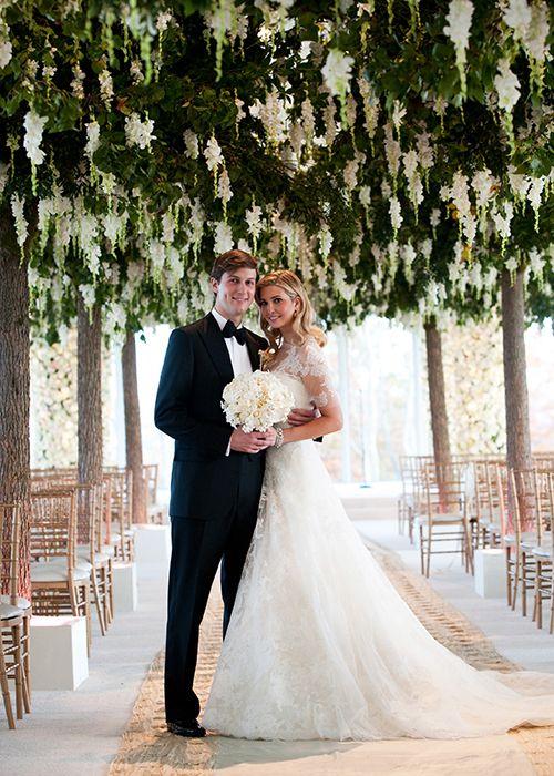 Trump Wedding Planner.Tbt Inside Ivanka Trump And Jared Kushner S Over The Top