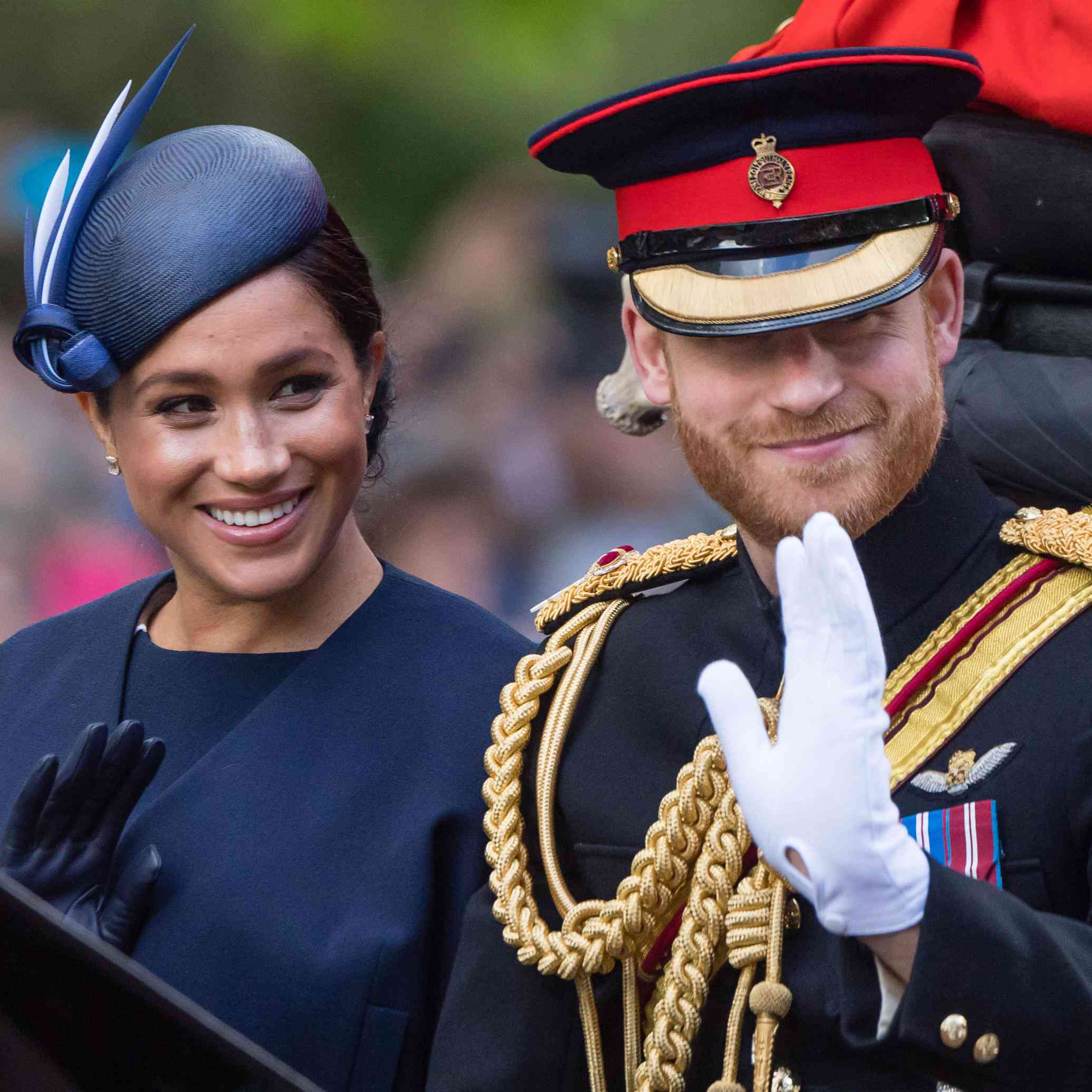 Did You Catch the Hidden Nod to Meghan Markle at Prince Harry's Meeting Today?