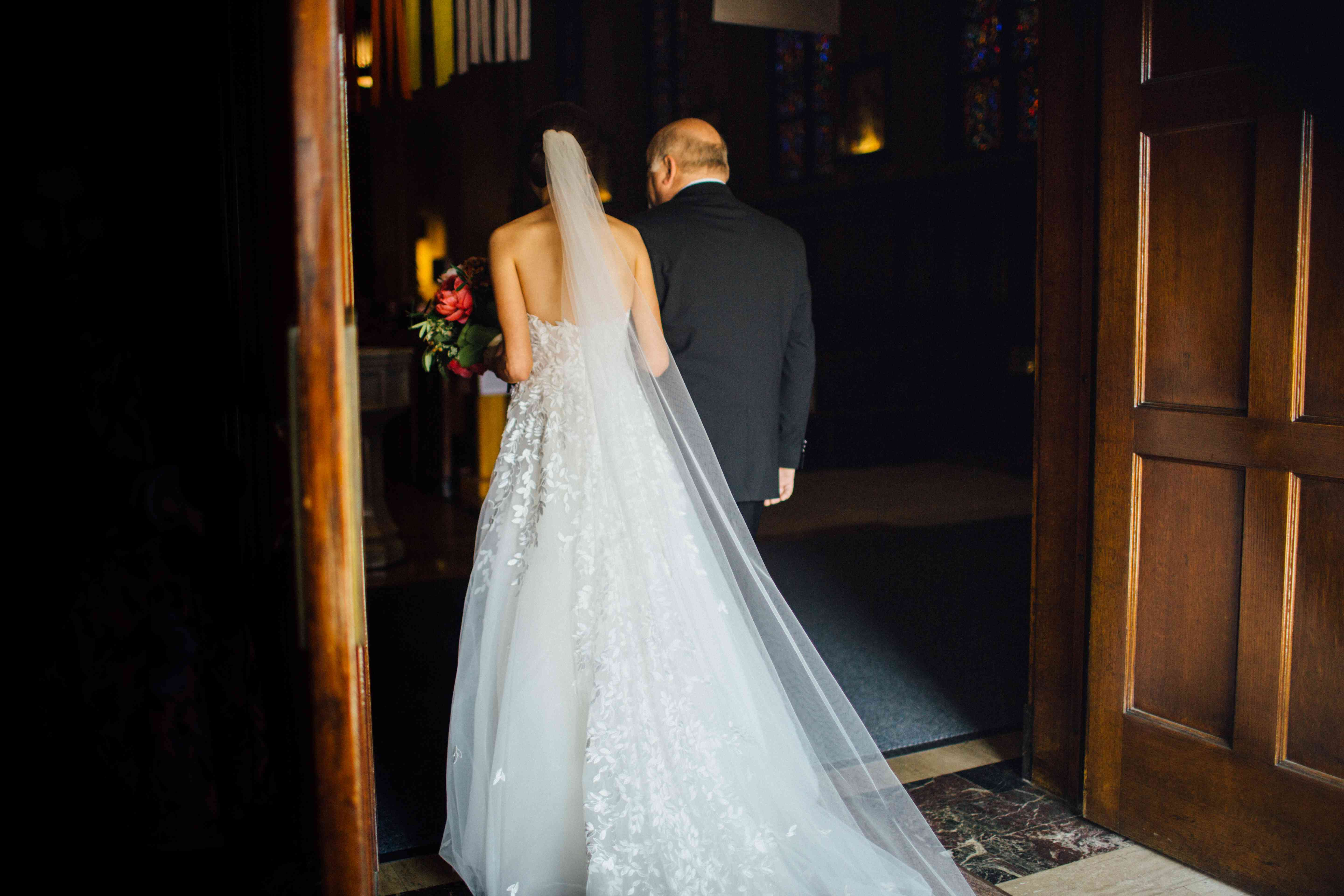 <p>Bride and Father-of-the-Bride</p><br><br>