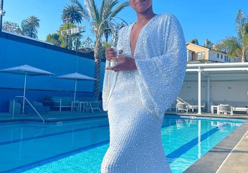 Naomi Osaka in Wedding Dress